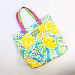Lilly Pulitzer For Estee Lauder Beach Bag